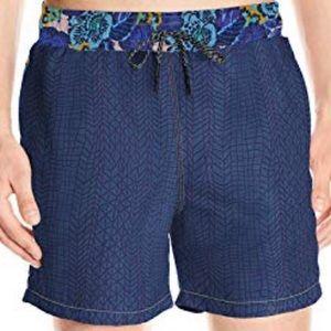 "NWT Maaji Mid Length Swimsuit Trunks 5"" Inseam"